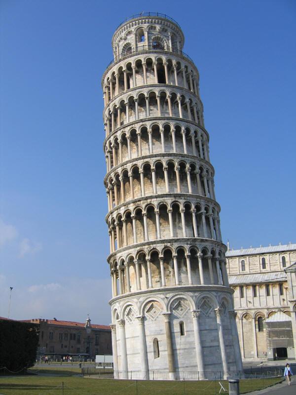 High five la tour de pise buzz voyages et tourisme - La tour de pise se redresse ...