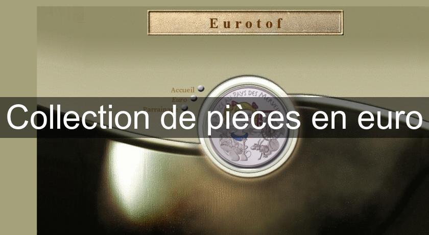 collection de pi ces en euro numismatique. Black Bedroom Furniture Sets. Home Design Ideas