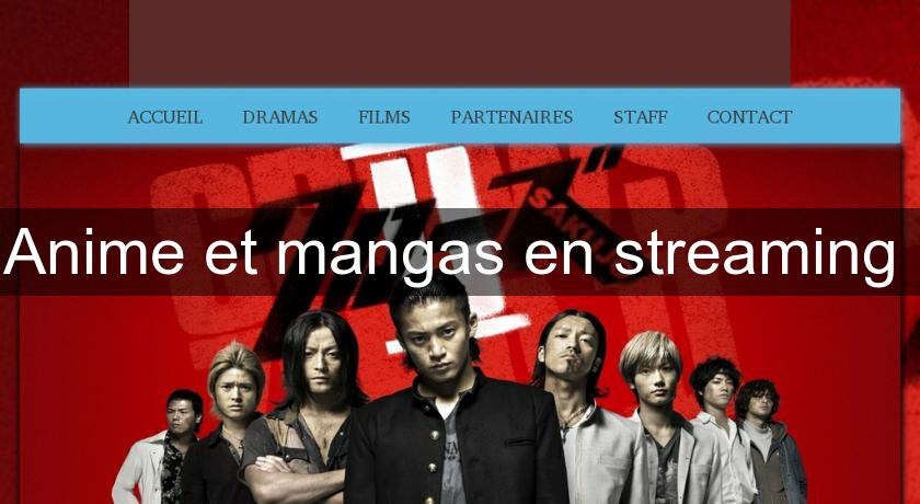 Anime et mangas en streaming