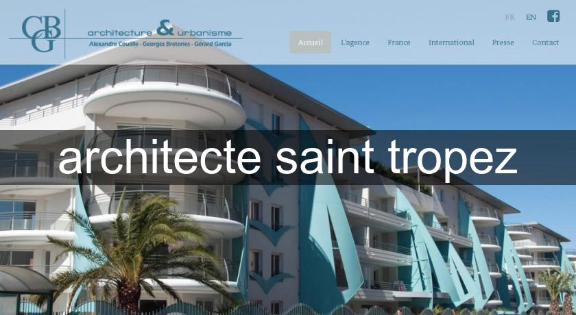 architecte saint tropez