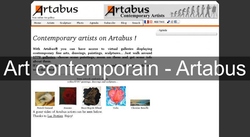 Art contemporain - Artabus