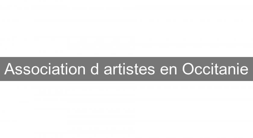 Association d'artistes en Occitanie
