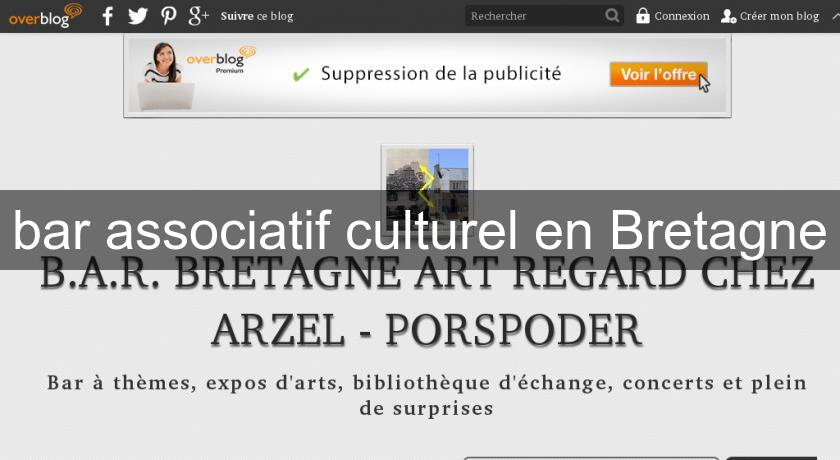bar associatif culturel en Bretagne