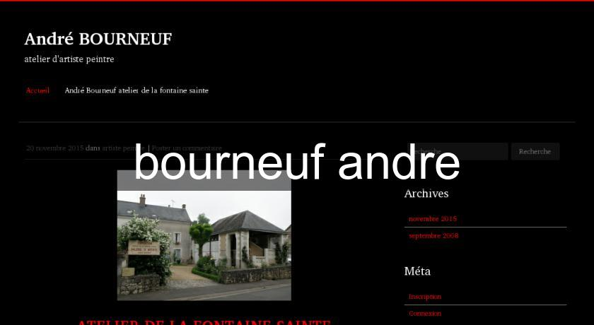 bourneuf andre