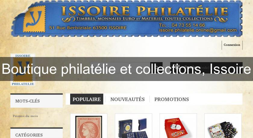 Boutique philatélie et collections, Issoire