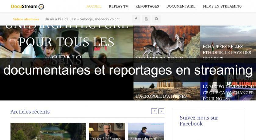documentaires et reportages en streaming