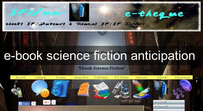 e-book science fiction anticipation