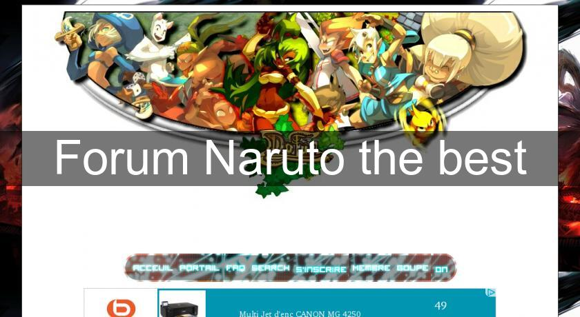 Forum Naruto the best