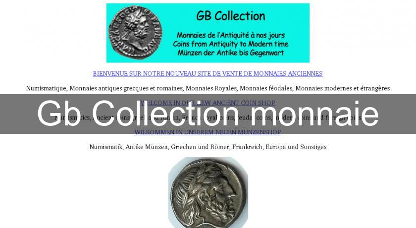 Gb Collection monnaie