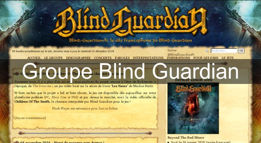 Groupe Blind Guardian