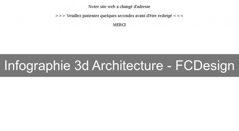 Infographie 3d Architecture - FCDesign