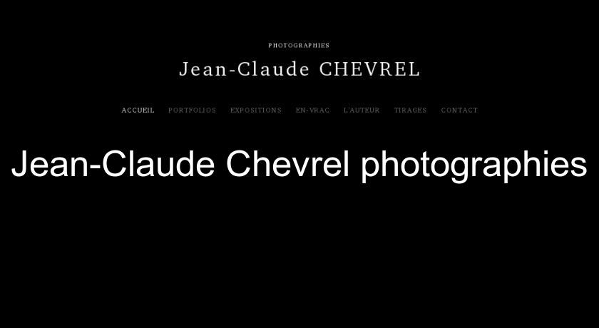 Jean-Claude Chevrel photographies