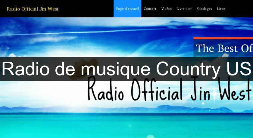 Radio de musique Country US