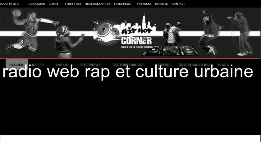 radio web rap et culture urbaine
