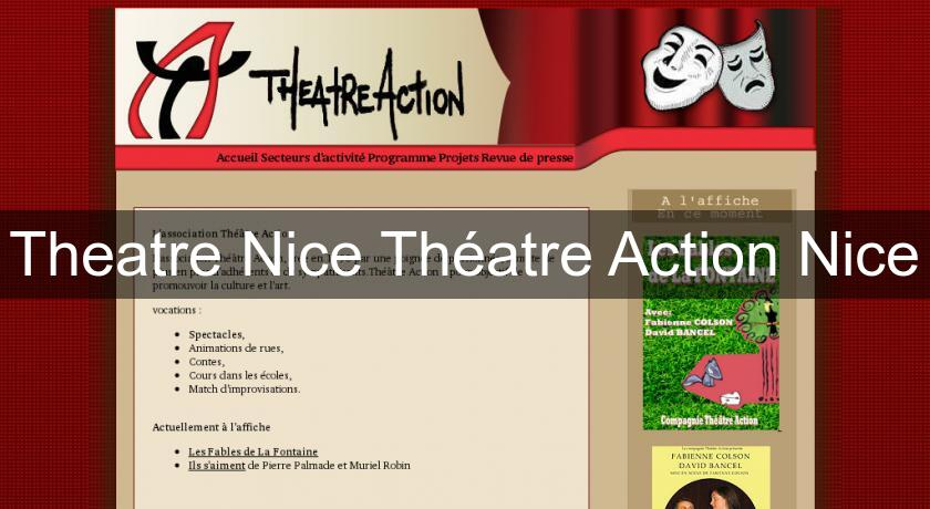 Theatre Nice Théatre Action Nice