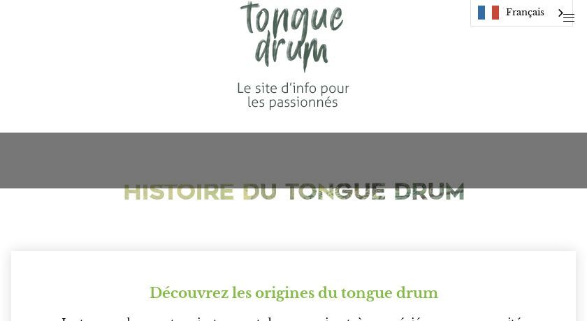 Tongue Drum francophone