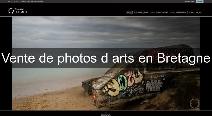 Vente de photos d'arts en Bretagne