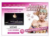Spectacle, one woman show d'Audrey Lamy