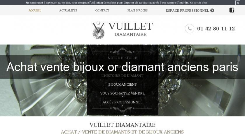 achat vente bijoux or diamant anciens paris joaillier. Black Bedroom Furniture Sets. Home Design Ideas