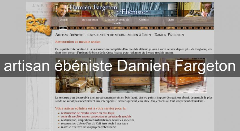artisan b niste damien fargeton menuisier. Black Bedroom Furniture Sets. Home Design Ideas