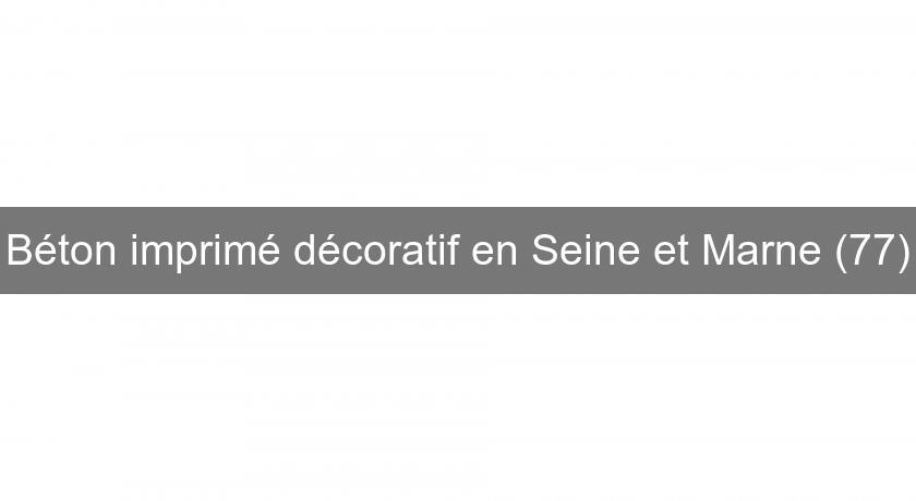 Magnifique Béton imprimé décoratif en Seine et Marne (77) Maçon @OD_36