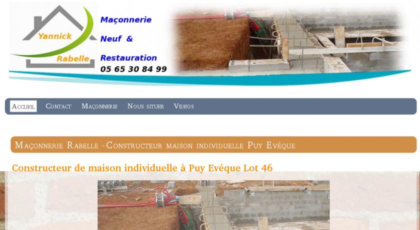 Constructeur maison individuelle puy l 39 ev que 46 ma on for Artisan constructeur maison individuelle