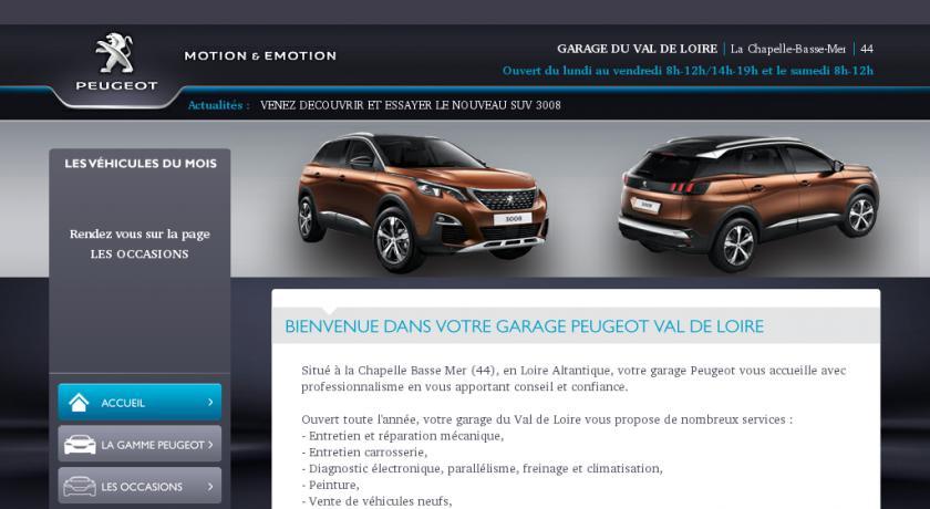Achat vente de v hicules d occasion ou neuf et atelier de for Garage peugeot 44