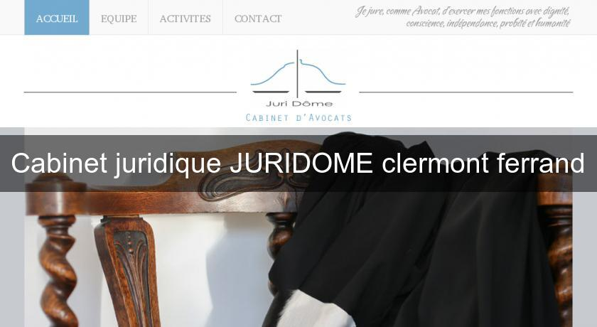 cabinet juridique juridome clermont ferrand avocats