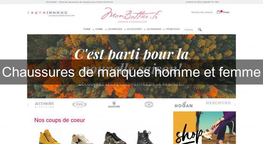 De Marques Et Femme Homme Chaussures TlcJFK13u