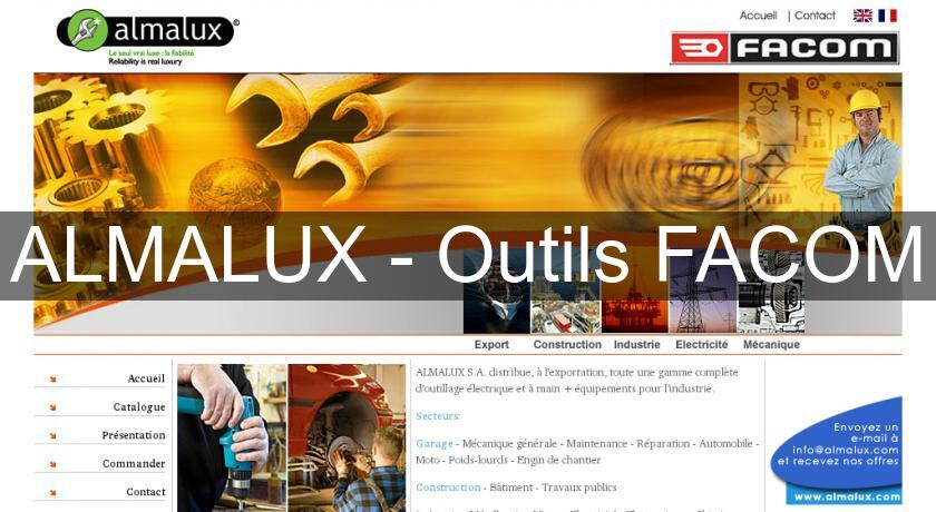 ALMALUX - Outils FACOM