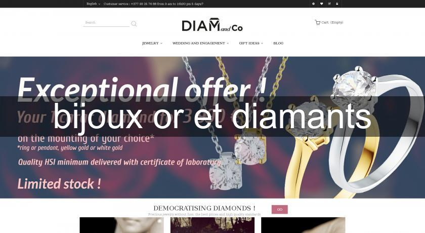 bijoux or et diamants