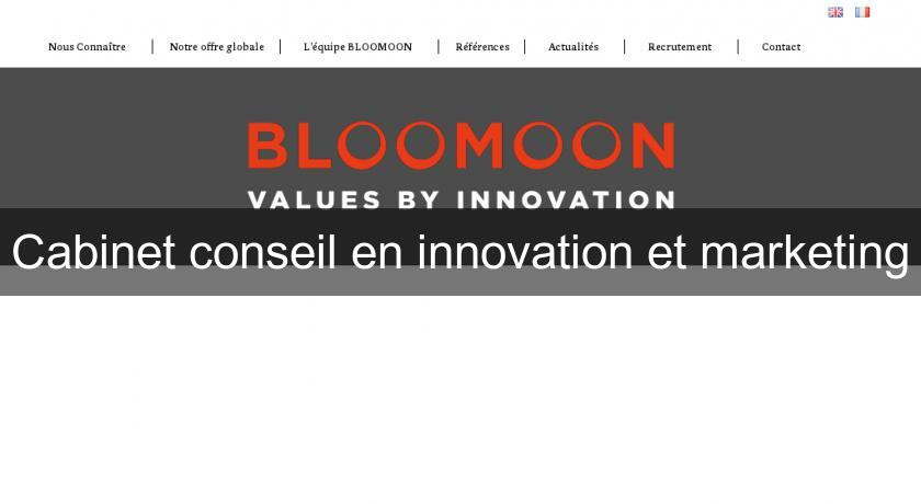 Cabinet conseil en innovation et marketing