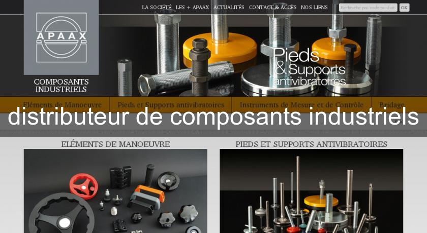 distributeur de composants industriels