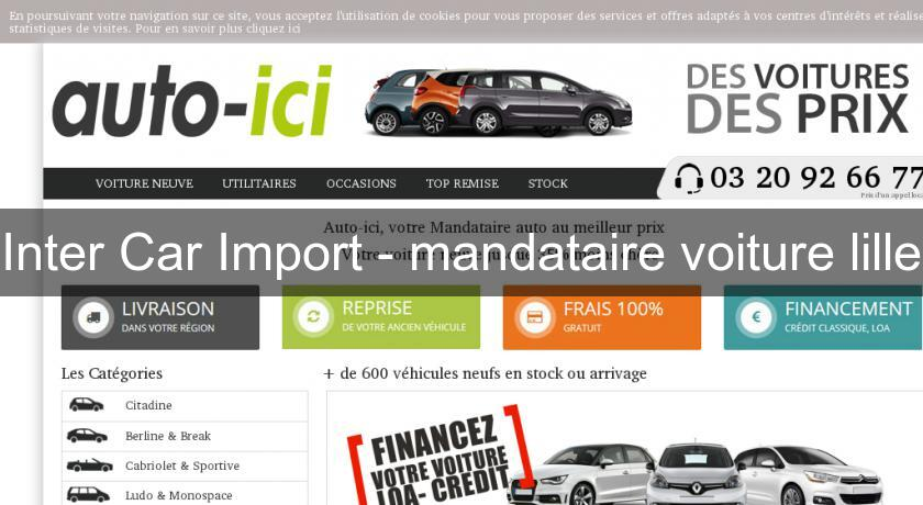 Inter Car Import - mandataire voiture lille