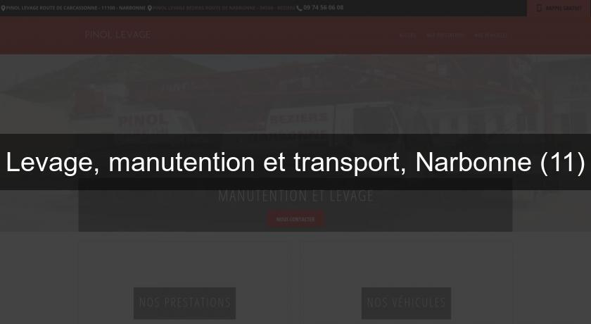 Levage, manutention et transport, Narbonne (11)