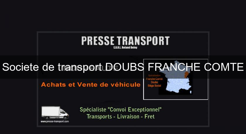 Societe de transport DOUBS FRANCHE COMTE