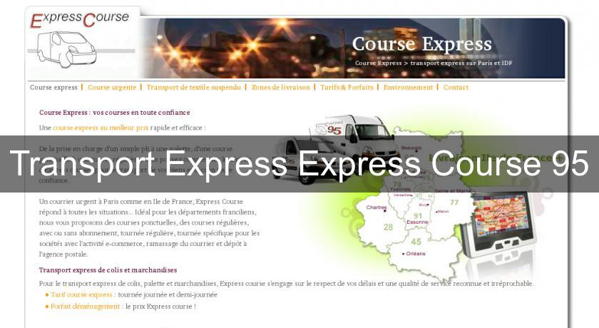 Transport Express Express Course 95