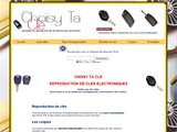 Reproduction de cl� � code et coque de cl�