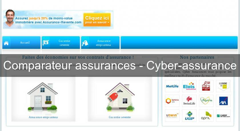Comparateur assurances - Cyber-assurance