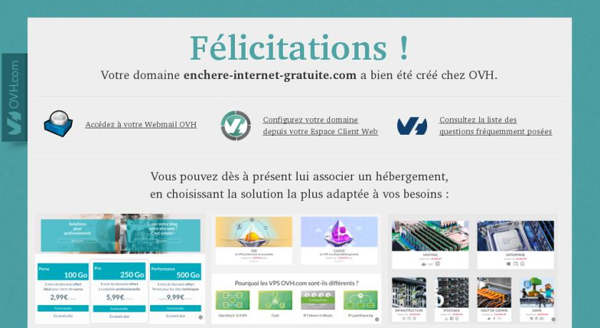 Enchere internet gratuite