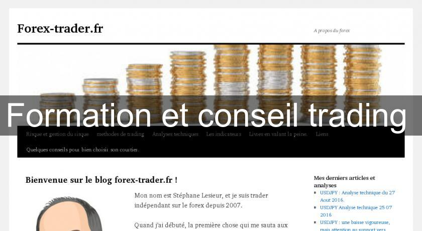 Formation et conseil trading