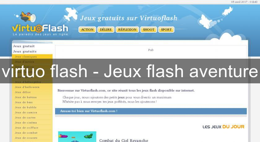 virtuo flash - Jeux flash aventure