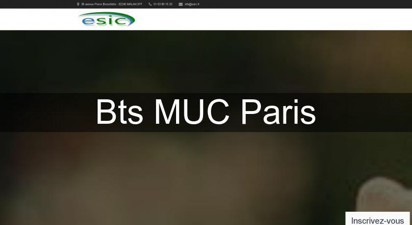 Bts muc paris formation en alternance - Bts cuisine en alternance ...