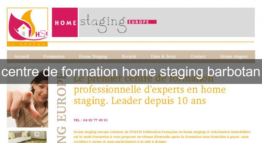 centre de formation home staging barbotan formation professionnelle. Black Bedroom Furniture Sets. Home Design Ideas