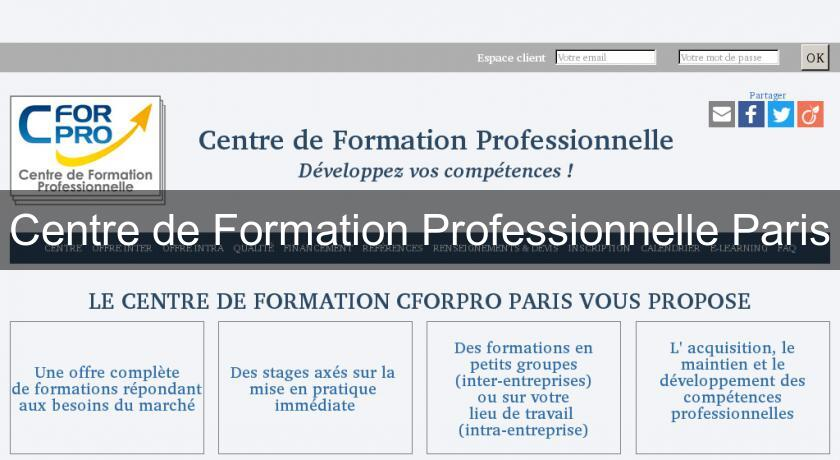 Centre de Formation Professionnelle Paris