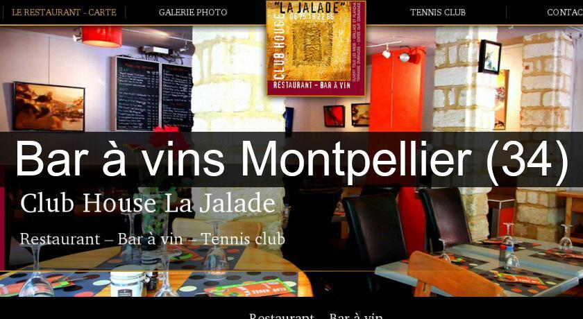 Bar à vins Montpellier (34)