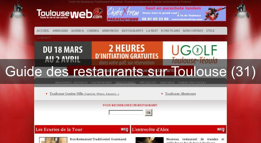 Guide des restaurants sur Toulouse (31)