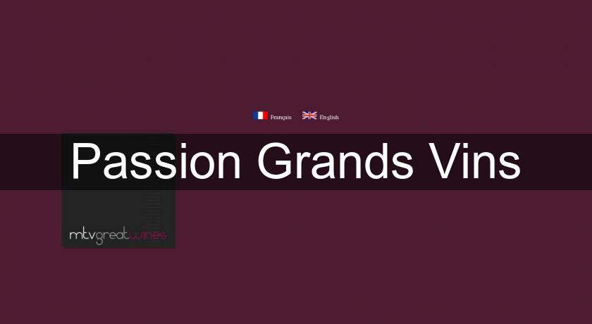 Passion Grands Vins