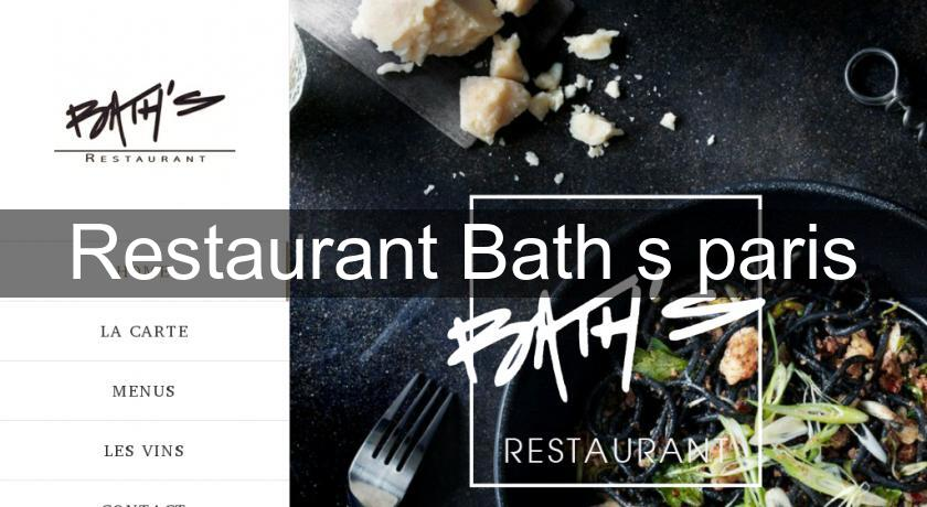 Restaurant Bath's paris