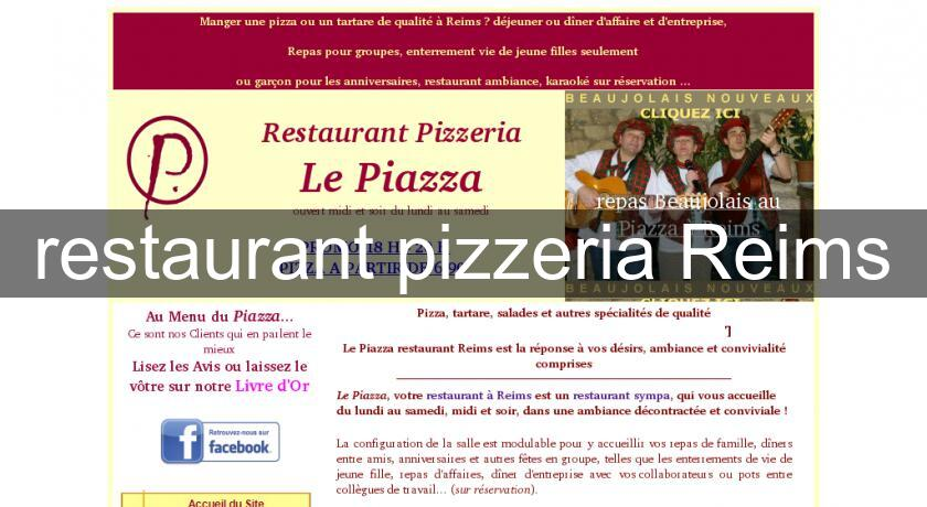 restaurant pizzeria Reims